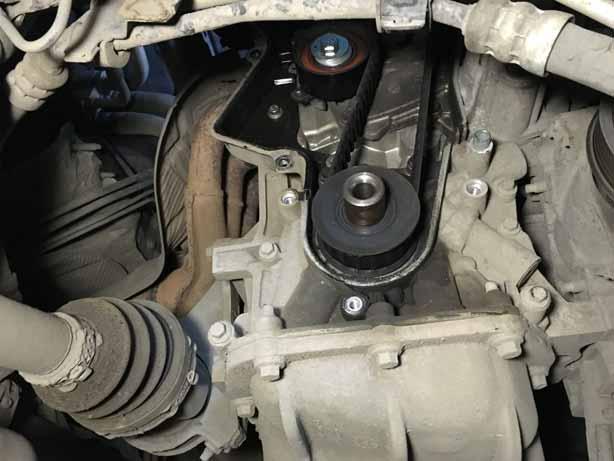 замена ремня генератора форд фокус